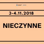 Weekend 3-4.11.2018